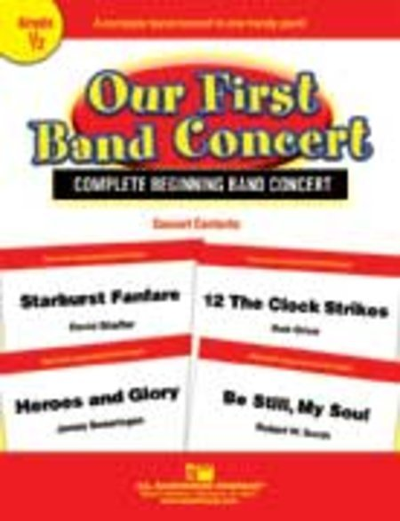 View larger image of Our First Band Concert - Score & Parts, Grade 0.5