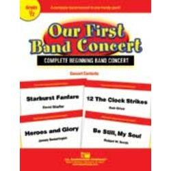 Our First Band Concert - Score & Parts, Grade 0.5