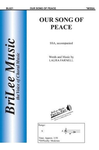View larger image of Our Song Of Peace, SSA Parts