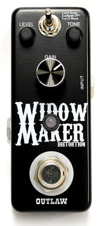 View larger image of Outlaw Effects Widow Maker Metal Distortion Pedal