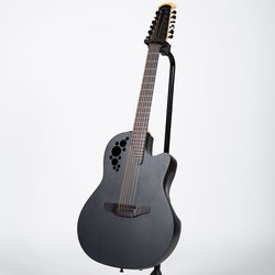 Ovation 2058TX-5 Elite TX 12-String Acoustic - Black
