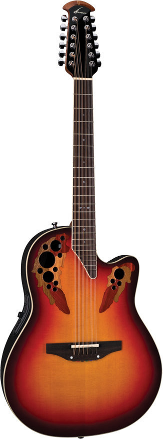 View larger image of Ovation 2758AX-NEB Standard Elite 12-String Acoustic - New England Burst