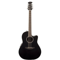 Ovation Celebrity Standard Mid-Depth Acoustic - Black