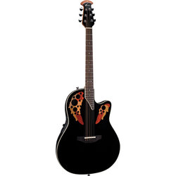 Ovation Elite Standard Acoustic - Black
