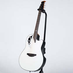Ovation Melissa Etheridge Signature Acoustic-Electric Guitar - Pearl White