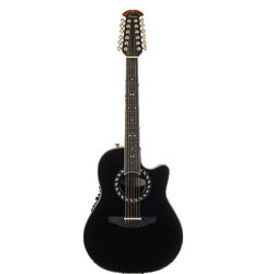 Ovation Standard Balladeer 12 String Acoustic - Black
