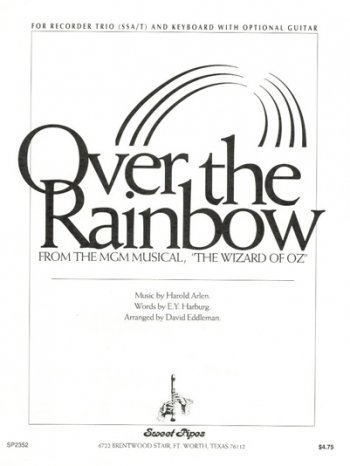 View larger image of  Over The Rainbow - (Recorder Trio - SSA/T,Piano/Opt Guitar)