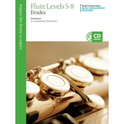 Overtones: A Comprehensive Flute Series - Studies 5-8