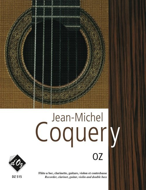 View larger image of Oz (Coquery) - Guitar & Mixed Ensemble