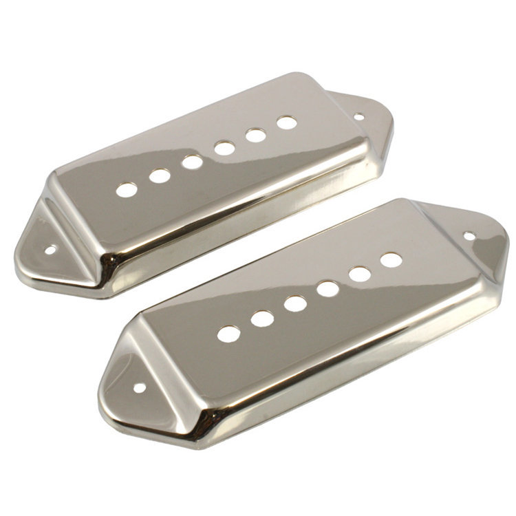 View larger image of P-90 Pickup Covers - Nickel