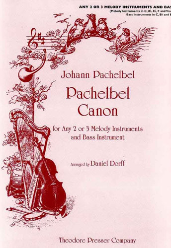 View larger image of Pachelbel Canon in D (For any 2 or 3 Melody Instruments)