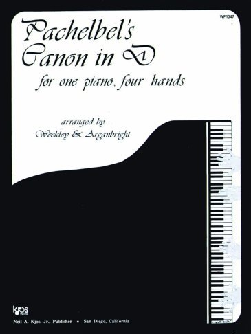 View larger image of Pachelbel's Canon In D - Piano Duet (1P4H)