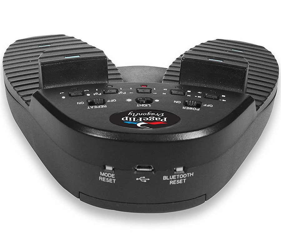 View larger image of PageFlip Dragonfly Bluetooth/USB 4-Pedal Controller