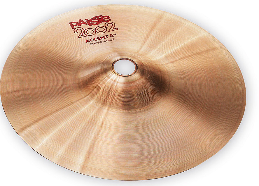 View larger image of Paiste 2002 Accent Cymbal - 4