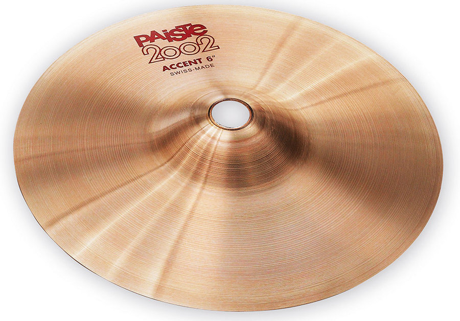 View larger image of Paiste 2002 Accent Cymbal - 6