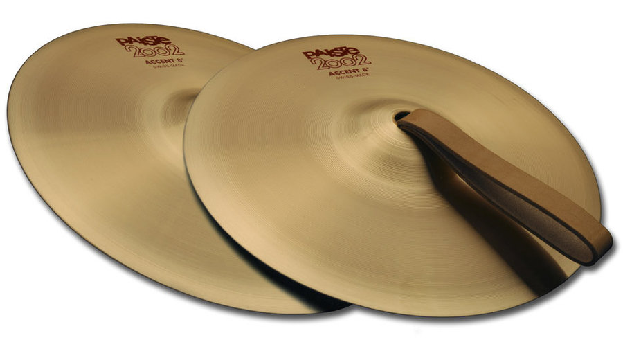 View larger image of Paiste 2002 Accent Cymbal - 8, Pair
