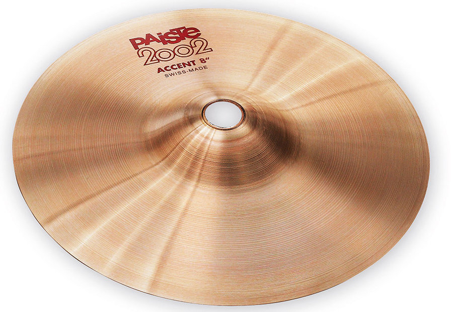 View larger image of Paiste 2002 Accent Cymbal - 8