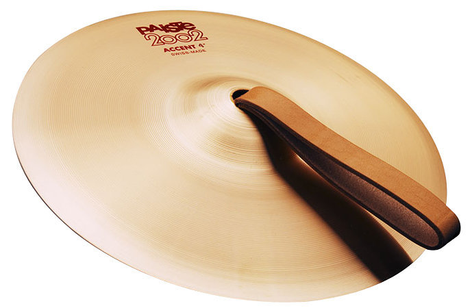 View larger image of Paiste 2002 Accent Cymbal with Leather Strap - 4