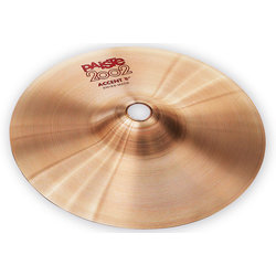 Paiste 2002 Accent Cymbal with Leather Strap - 8, Pair
