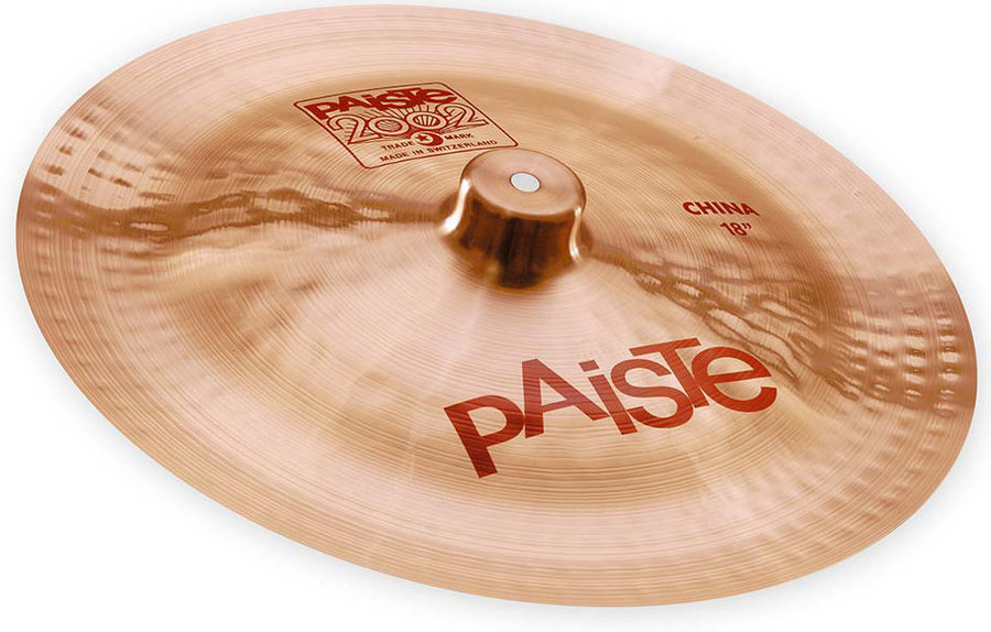 View larger image of Paiste 2002 China Cymbal - 18