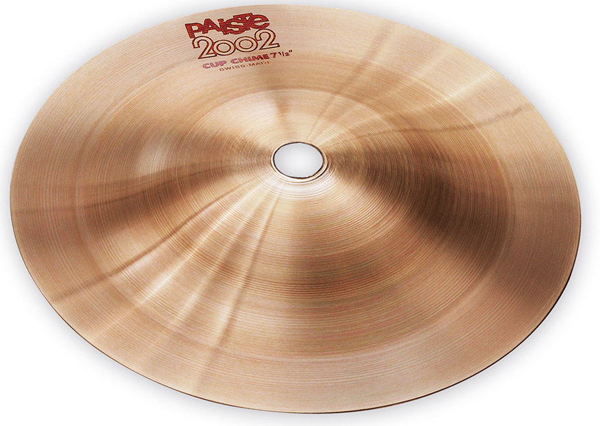 View larger image of Paiste 2002 Cup Chime - 7.5, Effect #2