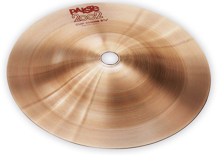View larger image of Paiste 2002 Cup Chime Cymbal - 5.5, Effect #6