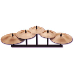 Paiste 2002 Cup Chime Cymbal 5 Piece Set