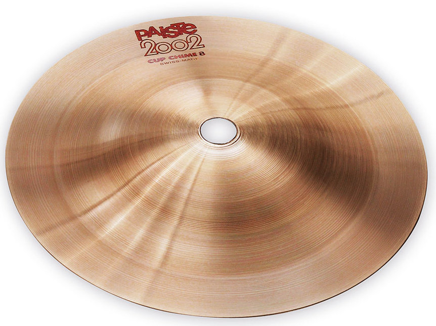 View larger image of Paiste 2002 Cup Chime Cymbal - 8, Effect #1