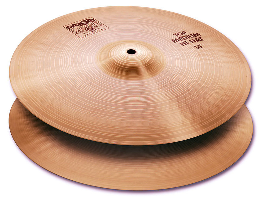 View larger image of Paiste 2002 Medium Hi-Hat - 14, Top Only