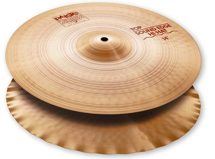 View larger image of Paiste 2002 Sound Edge Hi-Hat - 14, Bottom Only