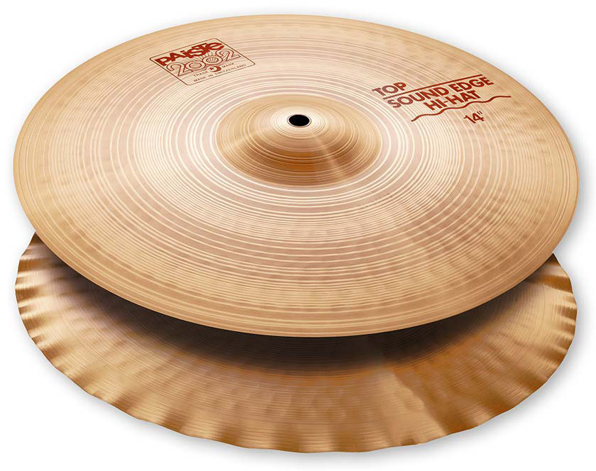 View larger image of Paiste 2002 Sound Edge Hi-Hat - 14, Top Only