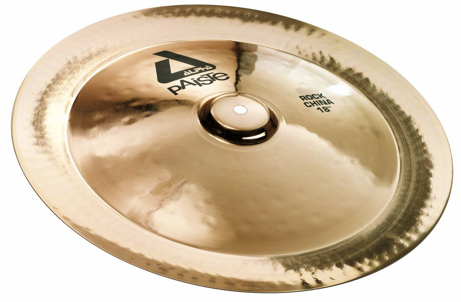 View larger image of Paiste Alpha Rock China Cymbal - 18, Brilliant