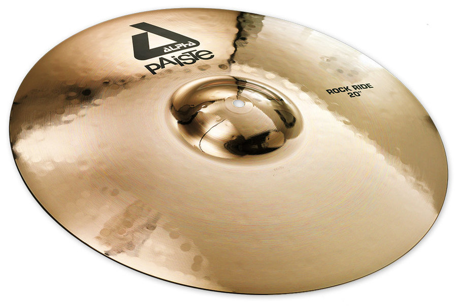 View larger image of Paiste Alpha Rock Ride Cymbal - 20, Brilliant
