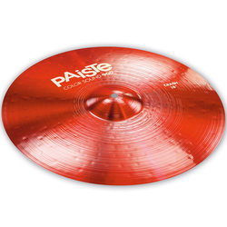 Paiste Color Sound 900 Crash Cymbal - 18, Red