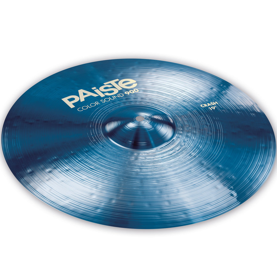 View larger image of Paiste Color Sound 900 Crash Cymbal - 19, Blue