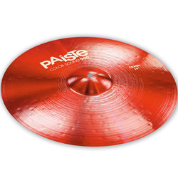 Paiste Color Sound 900 Crash Cymbal - 19, Red