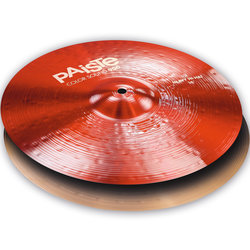 Paiste Color Sound 900 Heavy Hi-Hat Cymbal - 14, Red