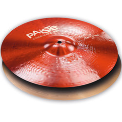 Paiste Color Sound 900 Heavy Hi-Hat Cymbal - 15, Red