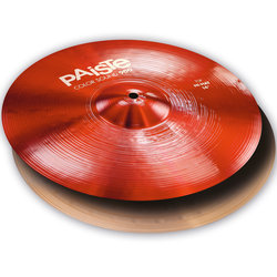 Paiste Color Sound 900 Hi-Hat Cymbals - 14, Red