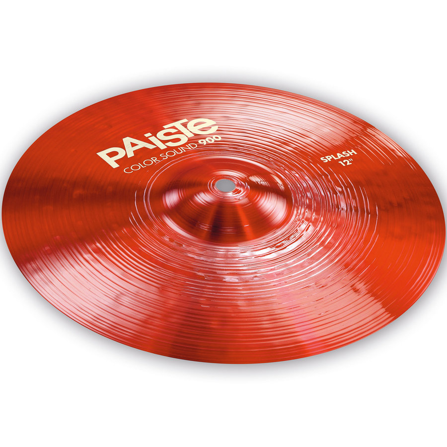 View larger image of Paiste Color Sound 900 Splash Cymbal - 12, Red