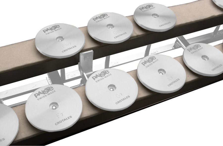 View larger image of Paiste Crotale Damper System for 2 Octaves F6-F8