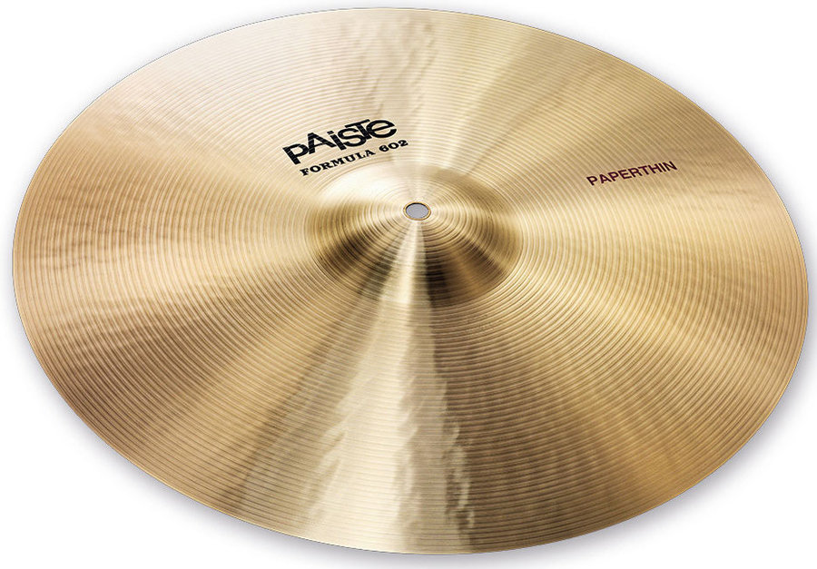 View larger image of Paiste Formula 602 Classic Sounds Paperthin Cymbal - 18