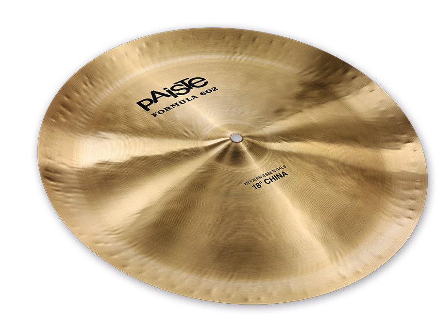View larger image of Paiste Formula 602 Modern Essentials China Cymbal - 18