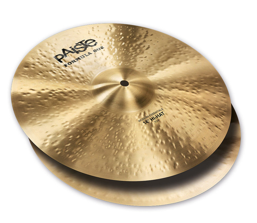 View larger image of Paiste Formula 602 Modern Essentials Hi Hat Cymbal - 14