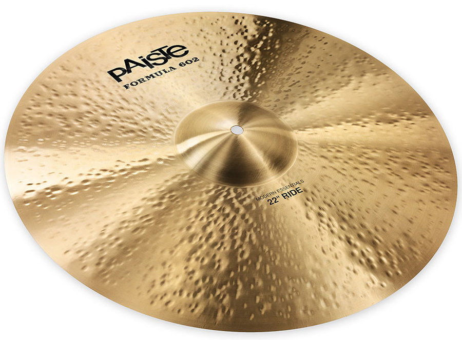 View larger image of Paiste Formula 602 Modern Essentials Ride Cymbal - 22