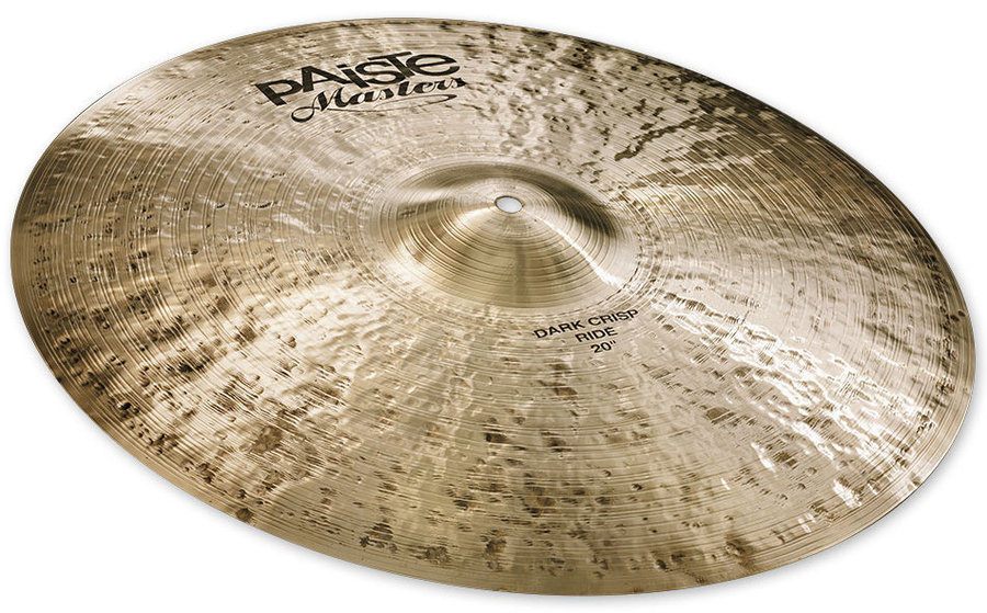 View larger image of Paiste Masters Dark Crisp Ride Cymbal - 20