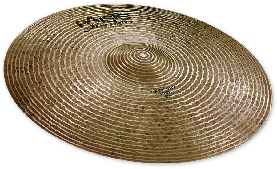 View larger image of Paiste Masters Dark Dry Ride Cymbal - 20