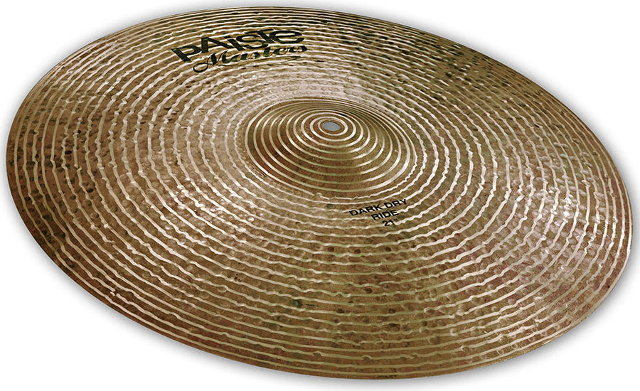 View larger image of Paiste Masters Dark Dry Ride Cymbal - 21