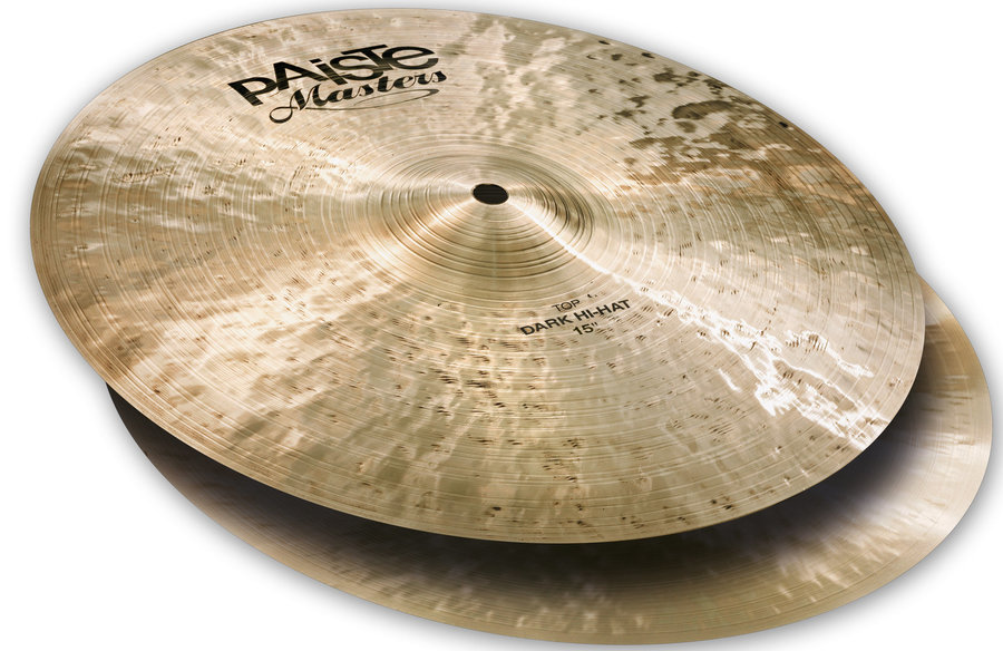 View larger image of Paiste Masters Dark Hi-Hat - 15