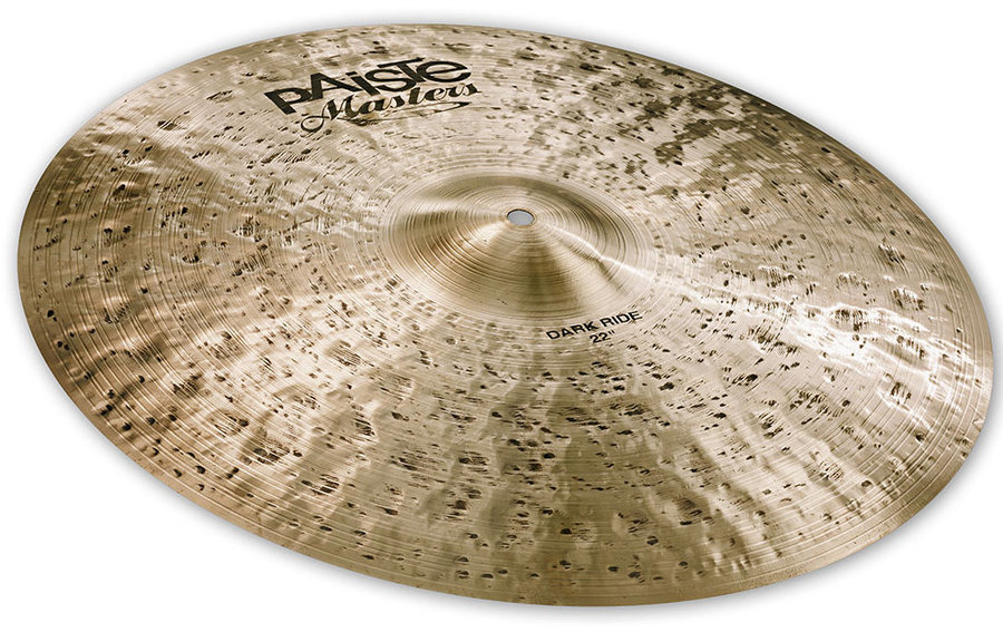 View larger image of Paiste Masters Dark Ride Cymbal - 22
